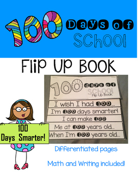100th Day Flip Up Book