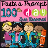 100th Day Writing Freebie