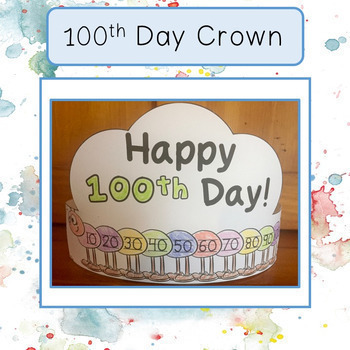 100th Day Freebie Crown (hat)