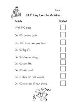 100th Day Fun Activity Set