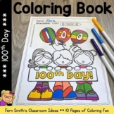 100th Day of School Coloring Pages Dollar Deal - 10 Pages