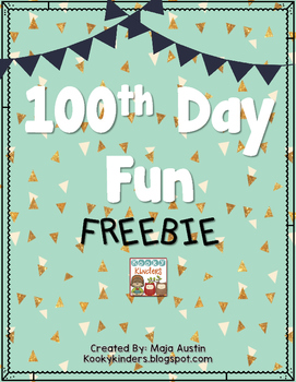 100th Day Fun FREEBIE
