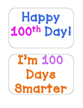 100th Day Fun Pack