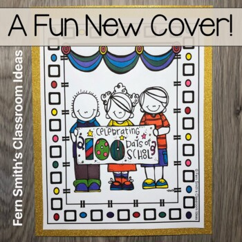100th Day of School Coloring Pages Differentiated Seasonal Vocabulary $1 Deal