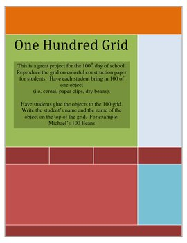 100th Day Grids