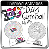 100th Day Gumball Machine *Counting to 100