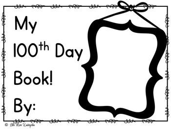 100th Day HOORAY!