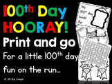 100th Day HOORAY!