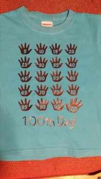 100th Day Hands Shirt