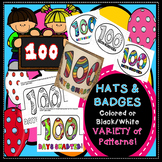 100th Day Hat Crown 100 Days