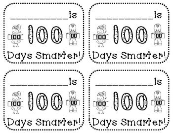 100th Day Hat Topper