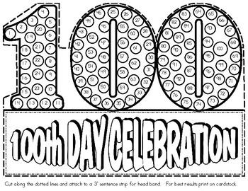 100th Day Headband