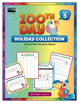 100th Day Holiday Collection, Grade 5 Printable | 9781483845968