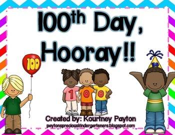 100th Day Hooray!!