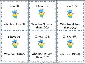 100th Day I Have..., Who Has...