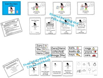 100th Day - Kiddos Connect to Zero the Hero Activities