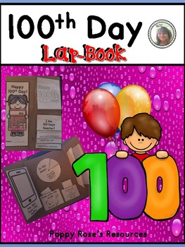 100th Day Lap-book