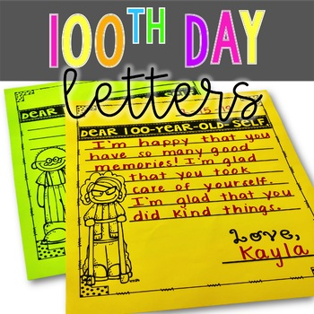 100th Day Letters