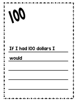 100th Day Literacy, Math, and Art Activities