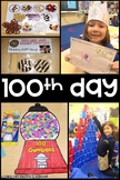 100th Day of School Activities (Literacy and Math Centers and Stations)