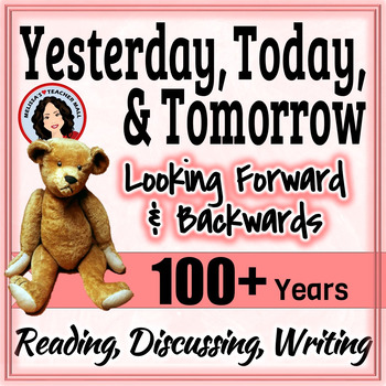 100th Day of School Looking at the Past and The Future 100 Years From Now