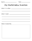 100th Day Marshmallow Invention
