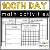 100th Day Math Activities
