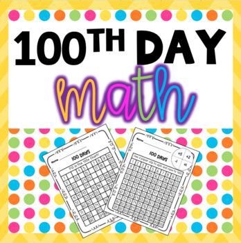 100th Day Math Games