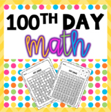 100th Day Math Games