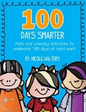100th Day Math & Literacy Packet