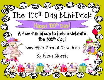 100th Day Mini Pack
