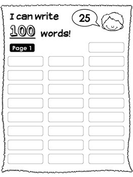 100th Day Mini Packet (100th Day book, headband, necklace)