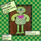 "100th Day Monster Craft Project ""100 Eyes Looking At You!"""