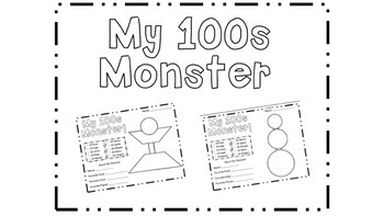 100th Day Monsters