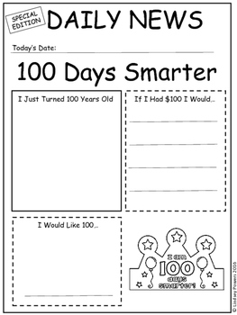 100th Day Newsletter