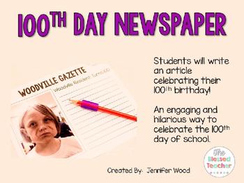 100th Day Newspaper Celebration!