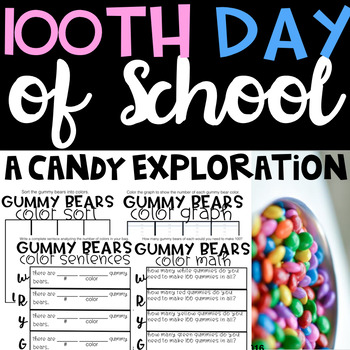 100th Day Of School, A Candy Exploration.
