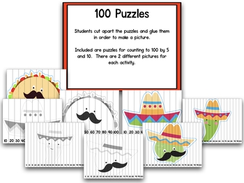 100th Day Of School:  Fiesta 100!  A Complete 100th Day Creation!