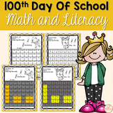 100th Day Of School Math Activities and Literacy