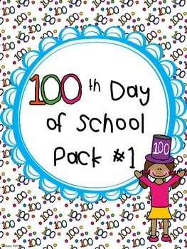 100th Day Pack #1