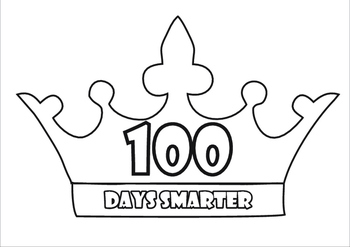 It is an image of Magic 100 Days Smarter Printable