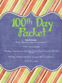100th Day Packet