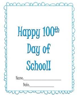100th Day Packet and Activities