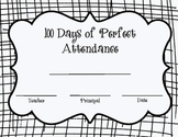 100th Day Perfect Attendance