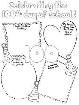 100th Day Poster
