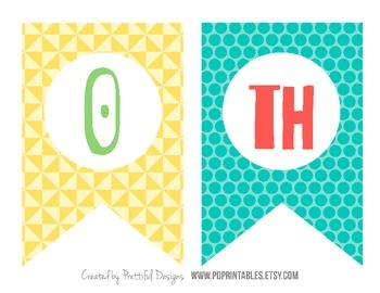 100th Day Printable Banner One Hundredth day of School