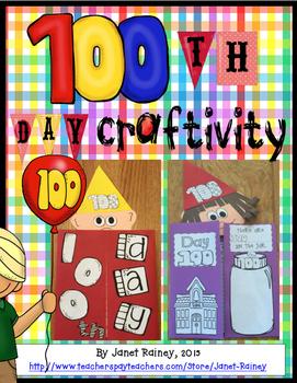100th Day of School Craftivity