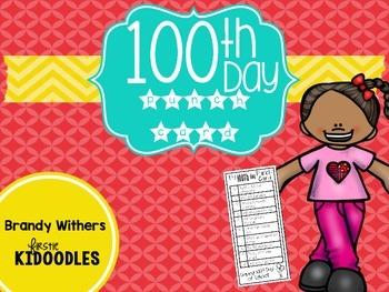 100th Day Punch Card