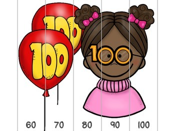 100th Day Puzzles {Freebie}