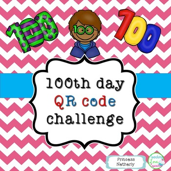 100th Day QR Code Challenge